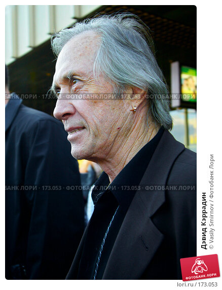 Дэвид Кэррадин, фото № 173053, снято 16 июня 2004 г. (c) Vasily Smirnov / Фотобанк Лори