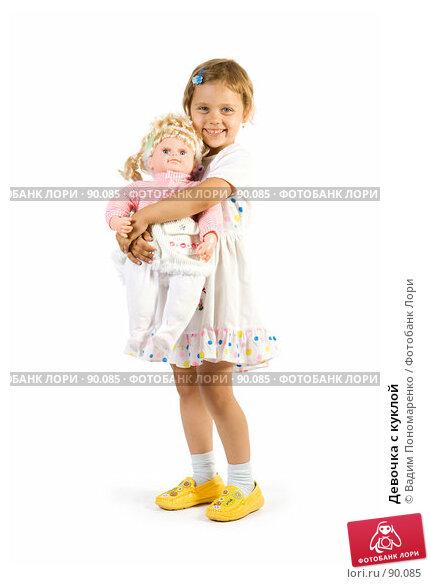 Девочка с куклой, фото № 90085, снято 16 июля 2007 г. (c) Вадим Пономаренко / Фотобанк Лори