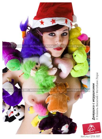 Девушка с игрушками, фото № 219197, снято 29 ноября 2006 г. (c) Коваль Василий / Фотобанк Лори
