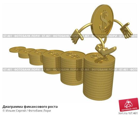 Диаграмма финансового роста, иллюстрация № 67461 (c) Ильин Сергей / Фотобанк Лори