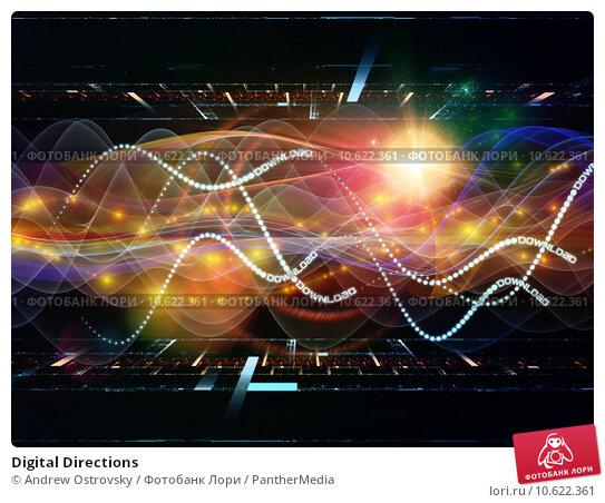 Digital Directions. Стоковое фото, фотограф Andrew Ostrovsky / PantherMedia / Фотобанк Лори