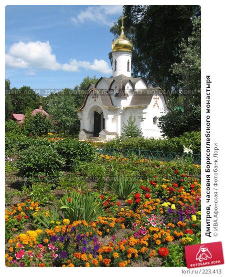 Дмитров, часовня Борисоглебского монастыря, фото № 223413, снято 3 августа 2006 г. (c) ИВА Афонская / Фотобанк Лори