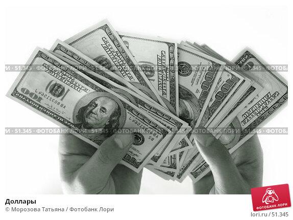 Доллары, фото № 51345, снято 18 июня 2006 г. (c) Морозова Татьяна / Фотобанк Лори