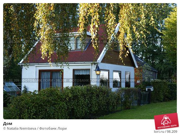 Дом, эксклюзивное фото № 98209, снято 14 октября 2007 г. (c) Natalia Nemtseva / Фотобанк Лори