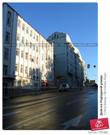 Дом на Народной улице, фото № 179945, снято 18 сентября 2004 г. (c) Петр Бюнау / Фотобанк Лори