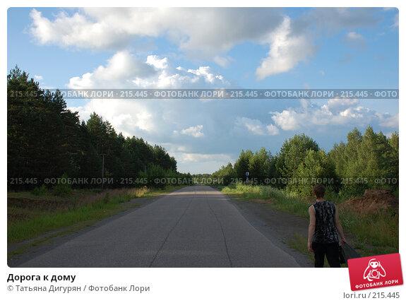 Дорога к дому, фото № 215445, снято 14 июля 2007 г. (c) Татьяна Дигурян / Фотобанк Лори