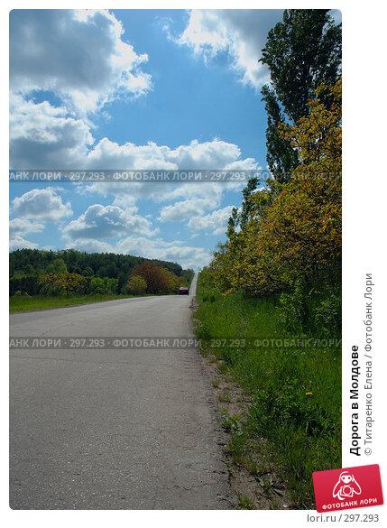 Дорога в Молдове, фото № 297293, снято 7 мая 2008 г. (c) Титаренко Елена / Фотобанк Лори