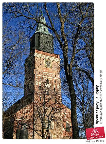 Купить «Древняя ратуша. Турку», фото № 75549, снято 3 января 2005 г. (c) Михаил Мандрыгин / Фотобанк Лори
