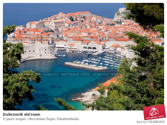 Dubrovnik old town. Стоковое фото, фотограф Jason Vosper / PantherMedia / Фотобанк Лори