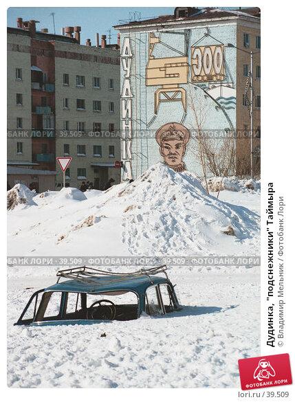"Дудинка, ""подснежники"" Таймыра, фото № 39509, снято 26 марта 2017 г. (c) Владимир Мельник / Фотобанк Лори"