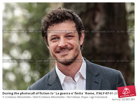During the photocall of fiction tv ' La guerra e' finita ' Rome, ITALY-07-01-2020. Редакционное фото, фотограф Cristiano Minichiello / AGF/Cristiano Minichiello / age Fotostock / Фотобанк Лори