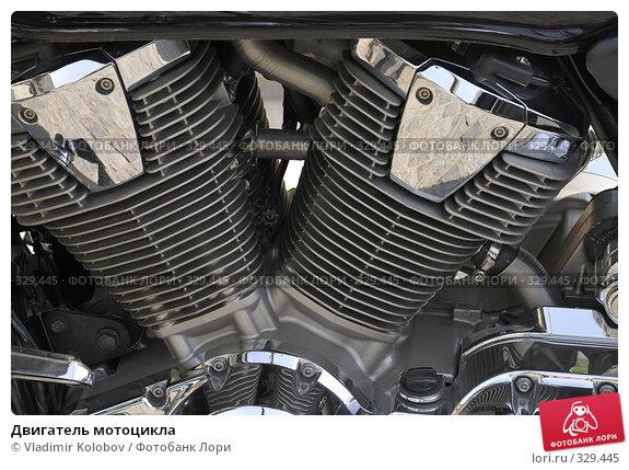 Двигатель мотоцикла, фото № 329445, снято 10 мая 2008 г. (c) Vladimir Kolobov / Фотобанк Лори