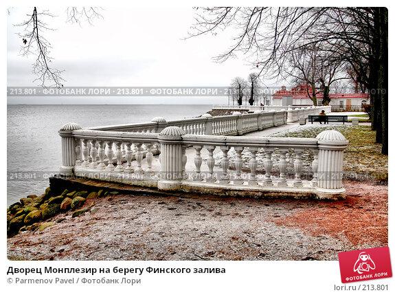 Дворец Монплезир на берегу Финского залива, фото № 213801, снято 13 февраля 2008 г. (c) Parmenov Pavel / Фотобанк Лори