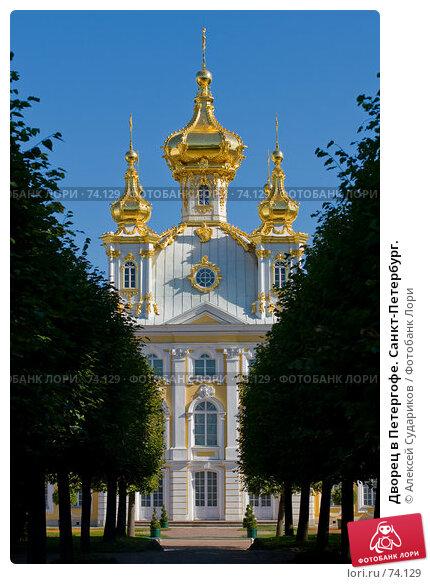 Дворец в Петергофе. Санкт-Петербург., фото № 74129, снято 11 августа 2007 г. (c) Алексей Судариков / Фотобанк Лори