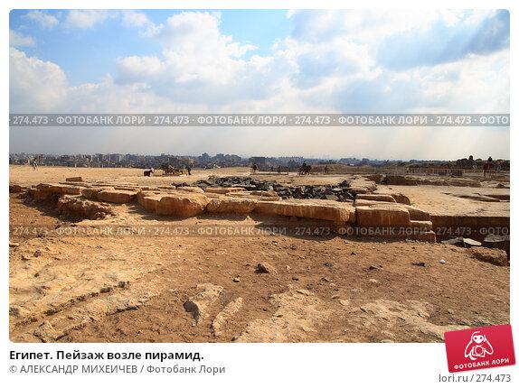 Египет. Пейзаж возле пирамид., фото № 274473, снято 25 февраля 2008 г. (c) АЛЕКСАНДР МИХЕИЧЕВ / Фотобанк Лори