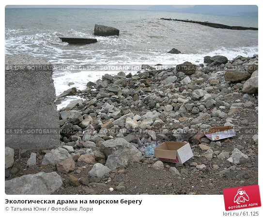 Экологическая драма на морском берегу, эксклюзивное фото № 61125, снято 24 сентября 2005 г. (c) Татьяна Юни / Фотобанк Лори