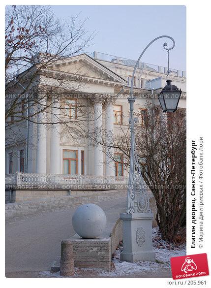 Елагин дворец. Санкт-Петербург, фото № 205961, снято 16 февраля 2008 г. (c) Марина Дмитриевых / Фотобанк Лори