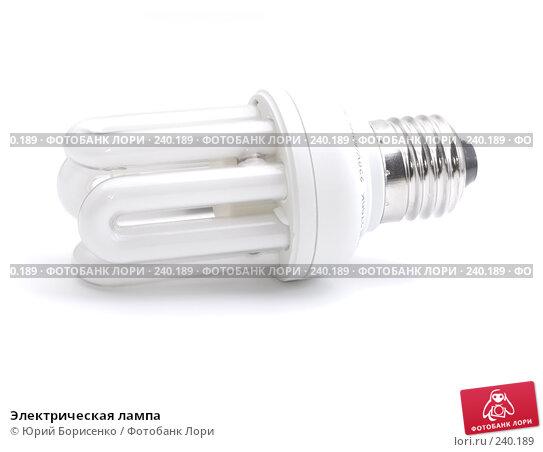 Электрическая лампа, фото № 240189, снято 30 марта 2008 г. (c) Юрий Борисенко / Фотобанк Лори