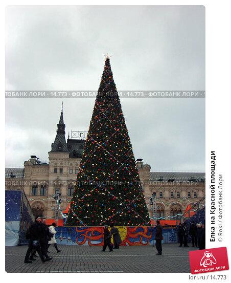 Елка на Красной площади, фото № 14773, снято 13 декабря 2006 г. (c) Roki / Фотобанк Лори