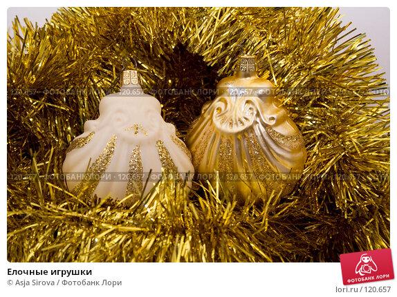 Купить «Елочные игрушки», фото № 120657, снято 19 ноября 2007 г. (c) Asja Sirova / Фотобанк Лори
