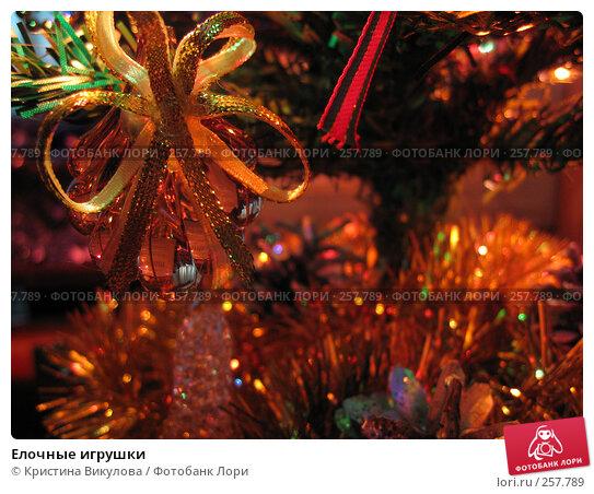 Елочные игрушки, фото № 257789, снято 26 декабря 2007 г. (c) Кристина Викулова / Фотобанк Лори