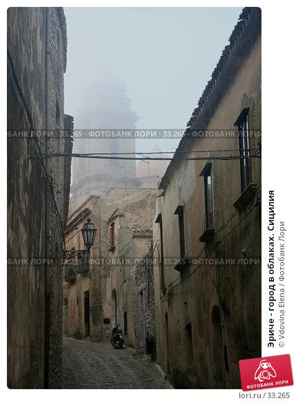 Эриче - город в облаках. Сицилия, фото № 33265, снято 30 августа 2006 г. (c) Vdovina Elena / Фотобанк Лори