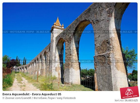 Evora Aquaedukt - Evora Aqueduct 05. Стоковое фото, фотограф Zoonar.com/LianeM / easy Fotostock / Фотобанк Лори