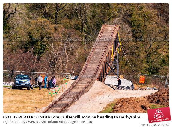 EXCLUSIVE ALLROUNDERTom Cruise will soon be heading to Derbyshire... Редакционное фото, фотограф John Finney / WENN / age Fotostock / Фотобанк Лори