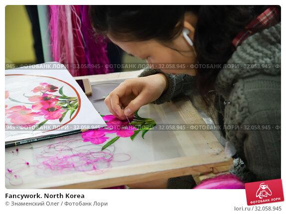 Fancywork. North Korea (2019 год). Редакционное фото, фотограф Знаменский Олег / Фотобанк Лори
