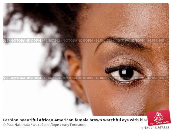 African american eye