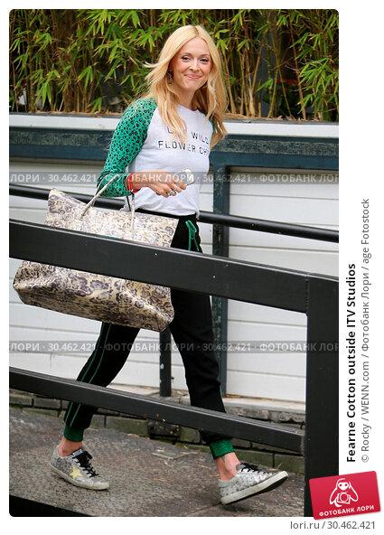 Fearne Cotton outside ITV Studios (2017 год). Редакционное фото, фотограф Rocky / WENN.com / age Fotostock / Фотобанк Лори