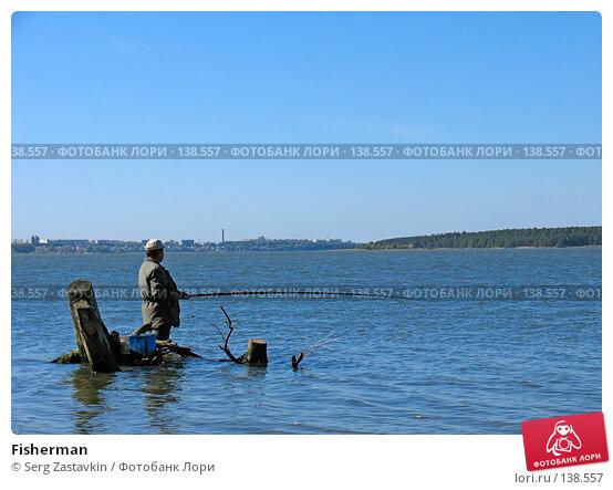 Fisherman, фото № 138557, снято 18 сентября 2005 г. (c) Serg Zastavkin / Фотобанк Лори