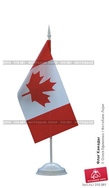 Флаг Канады, фото № 310981, снято 5 июня 2008 г. (c) Олеся Ефименко / Фотобанк Лори