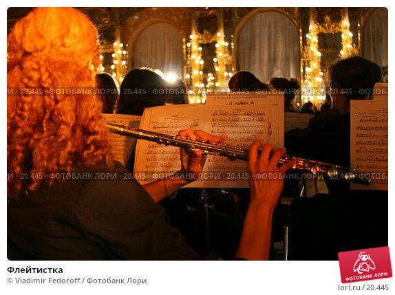 Флейтистка, фото № 20445, снято 28 декабря 2006 г. (c) Vladimir Fedoroff / Фотобанк Лори