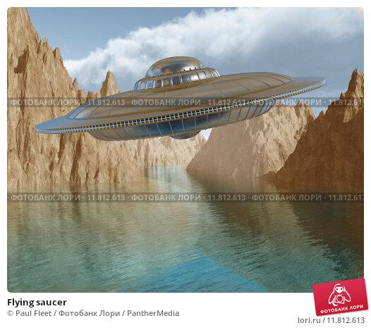 Купить «Flying saucer», фото № 11812613, снято 20 марта 2019 г. (c) PantherMedia / Фотобанк Лори