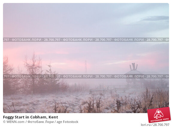 Купить «Foggy Start in Cobham, Kent Featuring: Atmosphere Where: Cobham, United Kingdom When: 28 Dec 2016 Credit: WENN.com», фото № 28700797, снято 28 декабря 2016 г. (c) age Fotostock / Фотобанк Лори