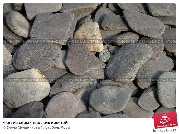 Фон из серых плоских камней, фото № 54437, снято 25 октября 2016 г. (c) Елена Мельникова / Фотобанк Лори