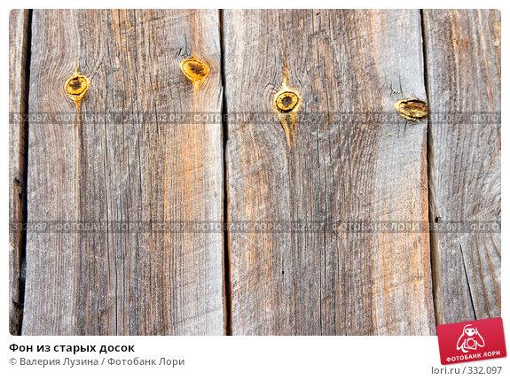 Купить «Фон из старых досок», фото № 332097, снято 12 июня 2008 г. (c) Валерия Потапова / Фотобанк Лори