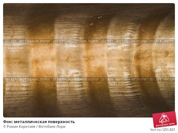 Фон: металлическая поверхность, фото № 251821, снято 11 апреля 2008 г. (c) Роман Коротаев / Фотобанк Лори