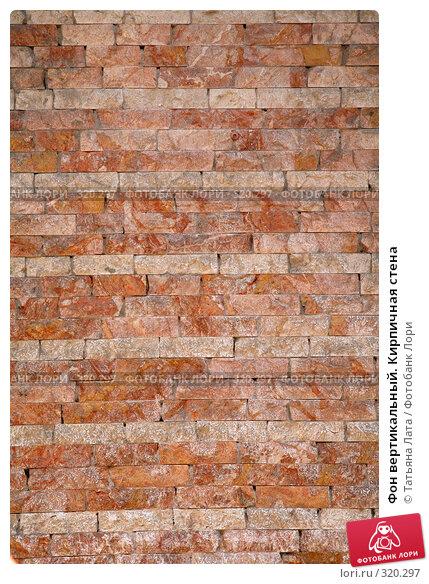 Фон вертикальный. Кирпичная стена, эксклюзивное фото № 320297, снято 26 апреля 2008 г. (c) Татьяна Лата / Фотобанк Лори