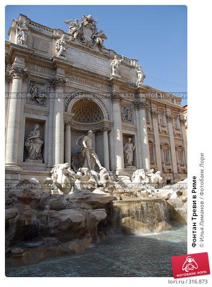 Купить «Фонтан Треви в Риме», фото № 316873, снято 27 августа 2007 г. (c) Илья Лиманов / Фотобанк Лори