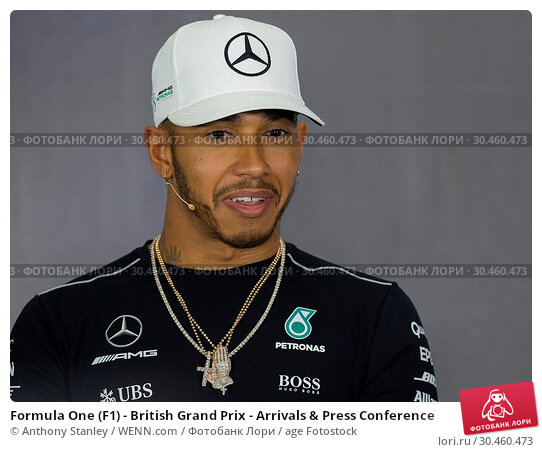 Formula One (F1) - British Grand Prix - Arrivals & Press Conference (2017 год). Редакционное фото, фотограф Anthony Stanley / WENN.com / age Fotostock / Фотобанк Лори