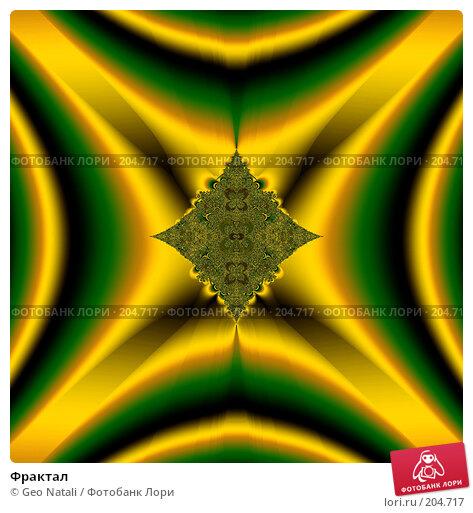 Фрактал, иллюстрация № 204717 (c) Geo Natali / Фотобанк Лори