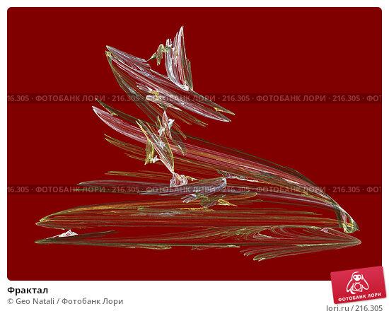Фрактал, иллюстрация № 216305 (c) Geo Natali / Фотобанк Лори