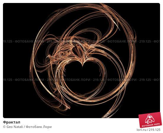 Фрактал, иллюстрация № 219125 (c) Geo Natali / Фотобанк Лори