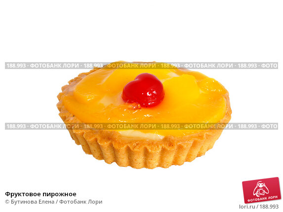 Фруктовое пирожное, фото № 188993, снято 14 октября 2007 г. (c) Бутинова Елена / Фотобанк Лори