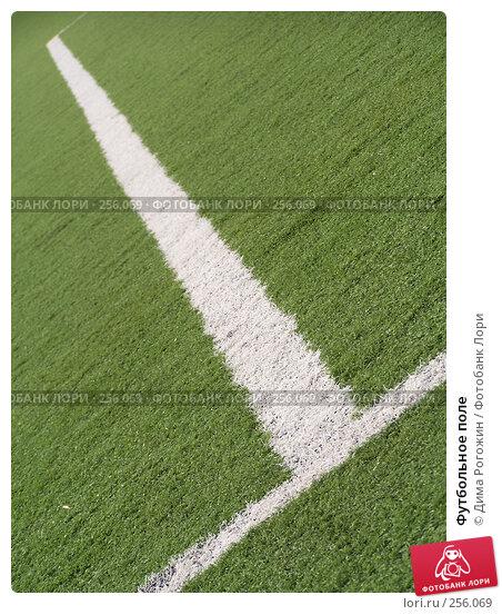 Футбольное поле, фото № 256069, снято 9 апреля 2008 г. (c) Дима Рогожин / Фотобанк Лори