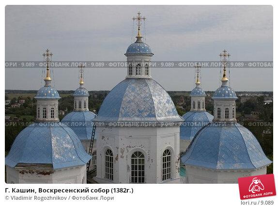 Купить «Г. Кашин, Воскресенский собор (1382г.)», фото № 9089, снято 6 августа 2005 г. (c) Vladimir Rogozhnikov / Фотобанк Лори