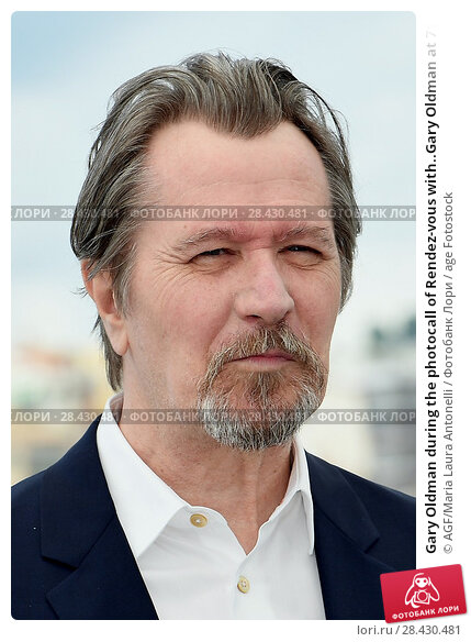 Купить «Gary Oldman during the photocall of Rendez-vous with..Gary Oldman at 71st Cannes Film Festival, Cannes,FRANCE-17-05-2018.», фото № 28430481, снято 17 мая 2018 г. (c) age Fotostock / Фотобанк Лори