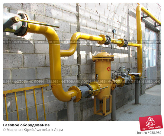 Купить «Газовое оборудование», фото № 938989, снято 15 июня 2009 г. (c) Марюнин Юрий / Фотобанк Лори
